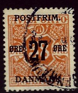 Denmark SC#152 Used F-VF SCV$110.00...Beautiful Denmark!
