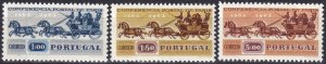 Portugal #906-8 F-VF Unused  CV $2.60  (Z8013)