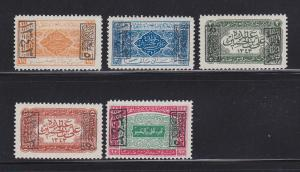 Saudi Arabia King Ali L164-L168 MHR (B)