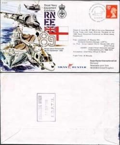 AC41a Royal Navy Equipment Exhibition Standard Cover (A)