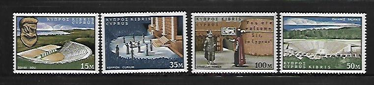 CYPRUS, 237-40 , MNH , 400TH ANNIVERSARY OF SHAKE SPHERE'S BIRTH