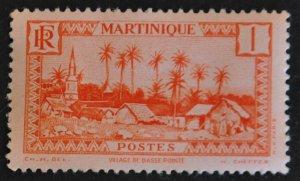 DYNAMITE Stamps: Martinique Scott #133 – MINT hr
