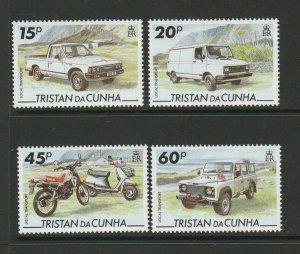 Tristan Da Cunha 1995 Local transport UM/MNH SG 576/9