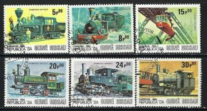 GUINEA BISSAU 619-24 CTO J821