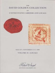 Siegel: Sale # 817  -  The David Golden Collection - Vol ...