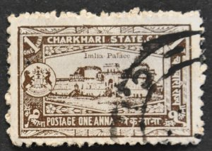 DYNAMITE Stamps: India – Charkhari Scott #29 – USED