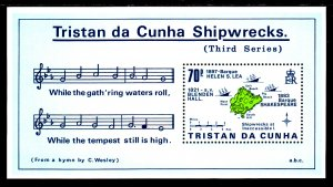 Tristan da Chuna 415 Souvenir Sheet MNH VF