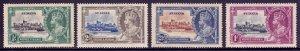 St. Lucia - Scott #91-94 - MH - Gum toning, toning #91 - SCV $16