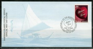 MARSHALL ISLANDS 2006 LOVE FIRST DAY COVER