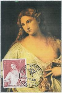 37277  MAXIMUM CARD -  Italy : ART Painters: TITIAN Tiziano 1976