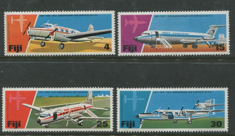 Fiji - Scott 367-370 - General Issue 1976- MNH - Set of 4 Stamps
