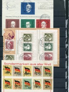 Germany lot used and mint F-VF  -  Lakeshore Phila...