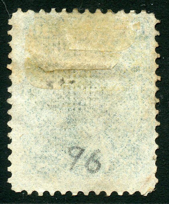UNITED STATES SCOTT#96  10c WASHINGTON  USED