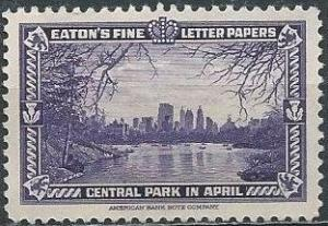 Eaton's Fine Letter Papers, Central Park in April (1939) (mlh)