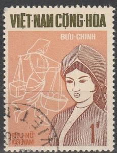 Vietnam #344  F-VF Used (V643)