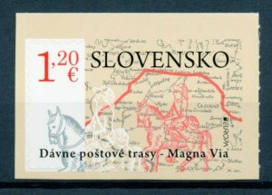 Slovakia Europa Stamps 2020 MNH Ancient Postal Routes Services Horses 1v S/A Set