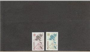 FAROE ISLANDS 377-378 MNH 2014 SCOTT CATALOGUE VALUE $7.50