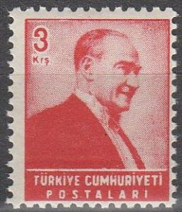 Turkey #1195 MNH  (S6092)