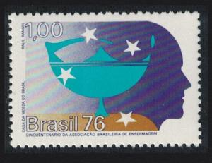 Brazil 50th Anniversary of Brazilian Nursing Assn SG#1621