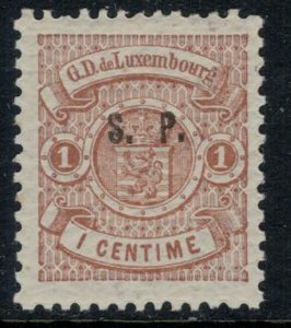 Luxembourg #O44*  CV $8.50