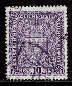 Austria 1917  Scott #167 used (CV 110.00)