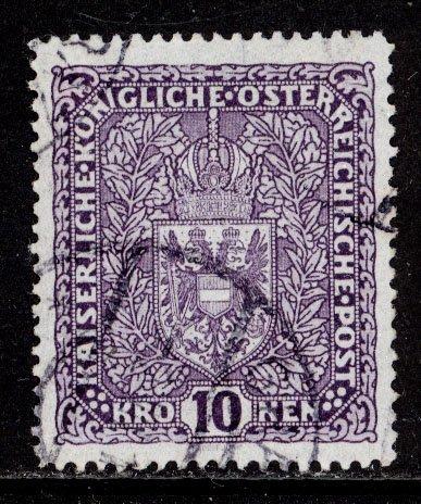 Austria 1917  Scott #167 used (CV 110.00)