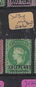ST HELENA  (P0705BB)  QV  1/2D       SG 34    MNG