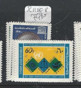 SYRIA  (PP2812B)  SG   1125-8    MNH
