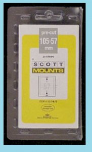 Scott Mounts Black 105/57, (pak 20)(00915B)*