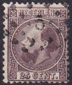 Netherlands #11 F-VF  Used  CV $110.00  (Z1196)