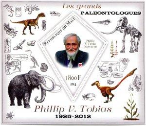PREHISTORIC ANIMALS Phillip V.Tobias s/s Perforated Mint (NH) #1