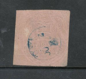 Natal #1 Very Fine Used - Light Thin & Signed