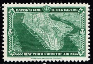 US STAMP AMERICAN BANK NOTE CO. EATON'S FINE LETTER PAPERS STAMP MNH #S3