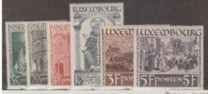 Luxembourg Scott #B86-B91 Stamps - Mint Set