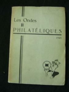 LES ONDES PHILATELIQUES 1945 6 ISSUES BOUND