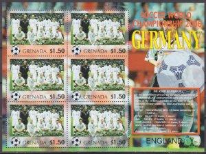 2006 Grenada 5710KL 2006 FIFA World Cup Germany( England ) 9,00 €