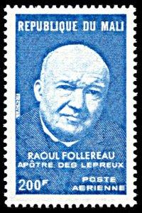 Mali C234, MNH, Raoul Follereau