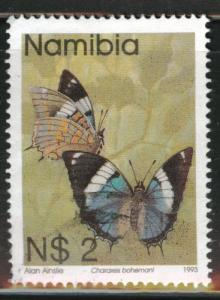 Nambia Scott 753 Used 1993-1994 Butterfly stamp