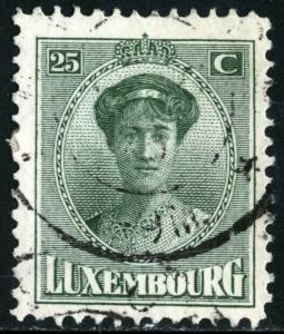LUXEMBOURG #141 - USED - 1921 - LUXEMB016