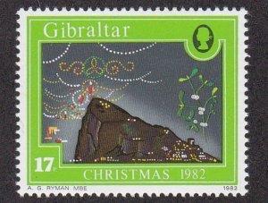 Gibraltar # 442, Christmas - Mistletoe, NH