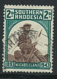Southern Rhodesia SG 61 FU