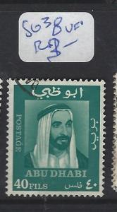 ABU DHABI  (P2202B)  SHEIKH 40F  SG 38  VFU