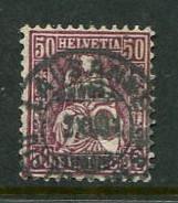 Switzerland #59 Used