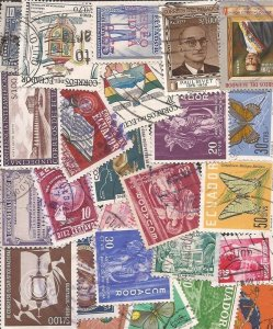 Ecuador - Stamp Collection - 25 Different Stamps