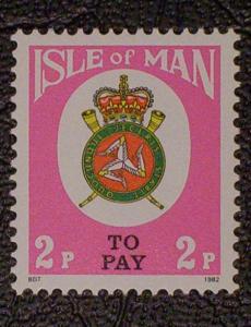 Great Britain - Isle of Man Scott #J18 mnh