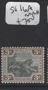MALAYA  FMS  (P2005BB)  3C TIGER  SG16A   MOG
