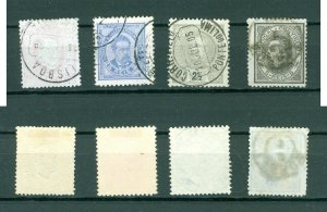 Portugal. Lot. 4 Different Classic-Old. Issues With Cancel