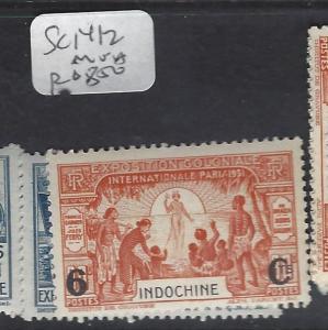 INDOCHINA FRENCH (P2612B)  SC 141-2   MNH