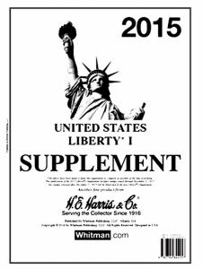 H E Harris Liberty 1 Supplement for Stamp issued in 2015