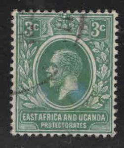 Kenya Uganda and Tanganyika KUT Scott 2 Used wmk 4, 1921